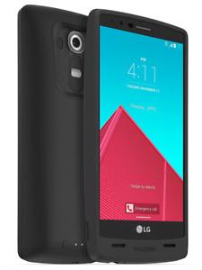 Original Mophie Juice Pack 80% Extra Battery For LG G4 - 3,450mAh -Black