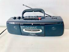 Boombox Panasonic RX-FS22 3 banda Radio Reproductor De Cassette Ghetto Blaster Retro