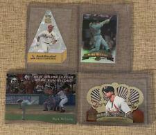 Mark McGwire Oddball Jumbo 4 Card Lot Refractor 3D Crown Royale MLB Baseball
