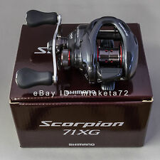 Shimano 16 Scorpion 71XG, Left Handle Baitcasting Reel Japan Model, 034748