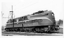 7BB405 RP 1940s/60s PRR PENNSYLVANIA RAILROAD GG1 LOCOMOTIVE #4872