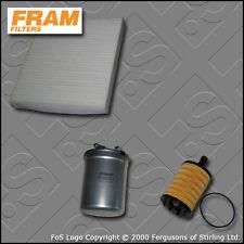 KIT di servizio per Seat Ibiza (6L) 1.9 TDI FRAM Olio Carburante Cabin filtri (2005-2009)