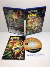 Crash Bandicoot Mind Over Mutant Sony PlayStation 2 PS2 CIB PAL TESTED P00023