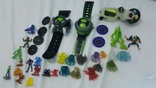 Ben 10 Alien Actions figures Bulk lot 2x watch 1x glasses mini figure collection