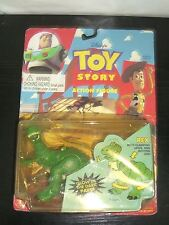 VINTAGE Disney's TOY STORY REX Figure CLAMPING JAW & MOVING LEGS THINKWAY MOC