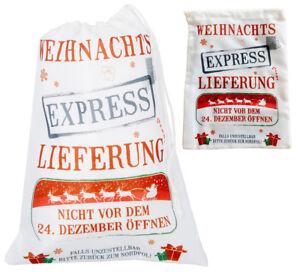 Beutel Weihnachts Express Tasche 4er Set Geschenktasche zu Weihnachten