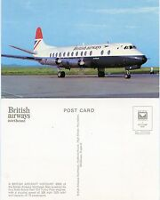 Airline Issue Postcard BA Viscount