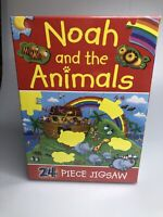 NOAH AND ANIMALS JIGSAW By Juliet  24 Piece Puzzle