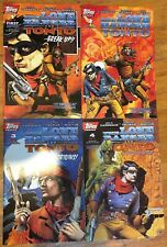 The Lone Ranger and Tonto 1994 Topps Comics, Set of 4 issues.High grade copies.