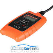 Car fault reader engine code scanner diagnostic tool OBD 2 CAN UK BASED CO VC310