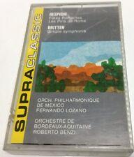 BENJAMIN BRITTEN Tape Cassette RESPIGHI 1989 supra Classic Canada