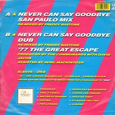 THE COMMUNARDS - Never Can Say Goodbye (Remix) - London