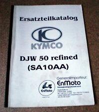 Catalogo Ricambi Kymco Djw 50 Refined (Sa 10 Aa )