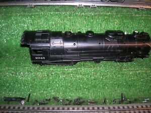 LIONEL POST WAR LOT # 2046 HUDSON,LOCO SHELL USED CONDITION.
