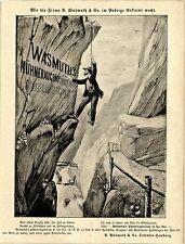 Wasmuth & Co. Ottensen-Hamburg HÜHNERAUGENRINGE IN DER UHR * Annonce v. 9.4.1893