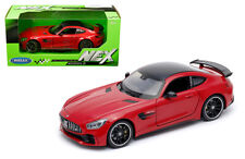 WELLY 1/24 SCALE RED MERCEDES BENZ AMG GT R DIECAST CAR MODEL  24081RD