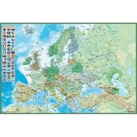 EUROPE - PHYSICAL MAP POSTER 24x36 - 3620