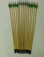 Traditional arrows - wood arrows - Vintage archery