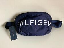 NEW! TOMMY HILFIGER BLUE CONVERTIBLE HIP FANNY PACK CROSSBODY BODY BELT BAG $68