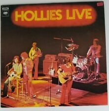 THE HOLLIES: Live CANADA Import Columbia VINYL LP PES 90401