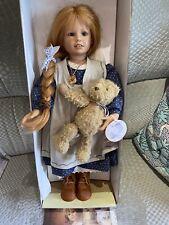 "Bettina Feigenspan-Hirsch Puppe Doll Zapf ""Caroline"""