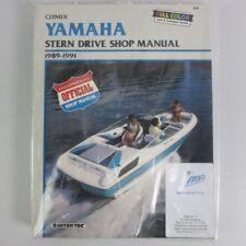 Yamaha Stern Drive Manual 1989-1991 B787 Werkstattbuch Reparatur