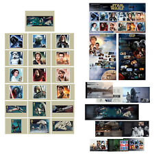 "Royal Mail- 2015- ""Star Wars:Bundle""- Stamp Postcard, Booklet and P Pack"