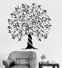 Vinyl Wall Decal Family Tree Of Life Nature Home Decoration Stickers (1200ig)