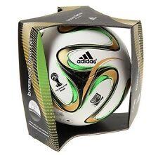 ADIDAS BRAZUCA FINAL RIO WORLD CUP 2014 SOCCER BALL MATCHBALL G84000 GOLD SIZE 5