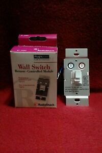 RadioShack 61-2683 Remote Wall Switch Module