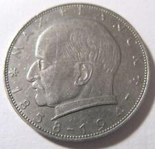 2 DM Deutsche Mark Deutschland Max Planck 1957 J Umlaufgeld Kursmünze ...#A