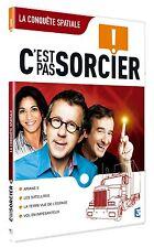 """26267//DVD C'EST PAS SORCIER -LA CONQUETE SPACIALE  NEUF DEBALLE 4 X 26"""""""