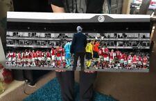 "Arsenal The Wenger Years V.2 Canvas Print (40""x16"") £29 #arsenal #MerciArsène"