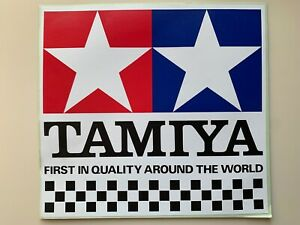 Tamiya Vintage Sticker 240mm x 225mm NOS Rare