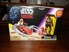 Star Wars, Shadows of the Empire-Swoop Bike and Trooper-Sealed