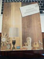 Vintage Weldwood Prefinished Paneling Brochure MCM Decor  - July, 1965