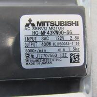 FAST SHIP MITSUBISHI SERVO MOTOR HC-MF43KW90-S6 NEW