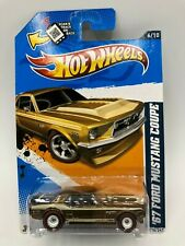 Hot Wheels 2012 Super Treasure Hunt 1967 Ford Mustang Coupe W/ Protecto