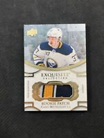 2018-19 UPPER DECK EXQUISITE CASEY MITTELSTADT ROOKIE PATCH RP-CM #ed 97/99