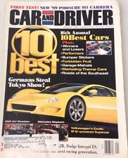 Car And Driver Magazine Germany Steals Tokyo Show January 1998 080317nonrh