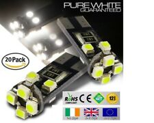 20x T10 W5W 501 Wedge CanBus LED No Error Free HID Xenon White Bulbs Side Lights