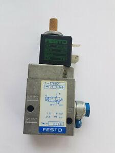 FESTO MFH-3-1/8 7802 Solenoid Valve - Worldwide Shipping, Invoice, Tax