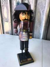 Susan Milford Captain Hook Nutcracker - 1987 - Signed - Number 386 of 5,000
