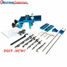 Aluminium Alloy Dowelling Jig Set Wood Dowel Drilling Position Jig Cam Jig