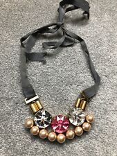 Mawi Necklace Crystal And Pearl Amazing !
