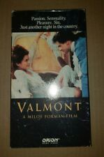 VALMONT VHS ( Orion, 1989) RARE
