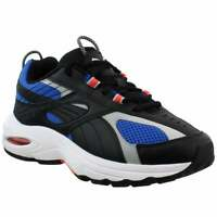 Puma Cell Speed Vibrant Lace Up  Mens  Sneakers Shoes Casual   - Black