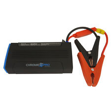 Chrome Pro Series Rescue Elite 12Volt Jump Starter Booster and Power Bank