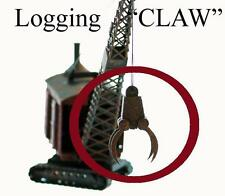 LOGGING CLAW, HO Finished Model includes 1 FINISHED LOG CLAW