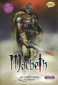 Macbeth the Graphic Novel: Plain Text by William Shakespeare (Paperback, 2008)
